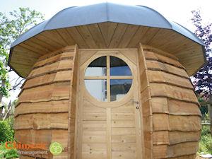 Abri de jardin original for Cabane de jardin originale